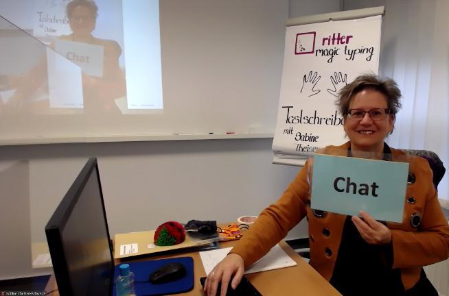 Webinar - Tastschreiben lernen, im Zehnfingersystem chatten